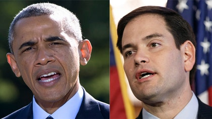 Florida Senator and prospective  Republican presidential candidate Marco Rubio praised the strikes and said that he was hopeful that the attacks would help dismantle the violent organization also known as the Islamic State or ISIL.
