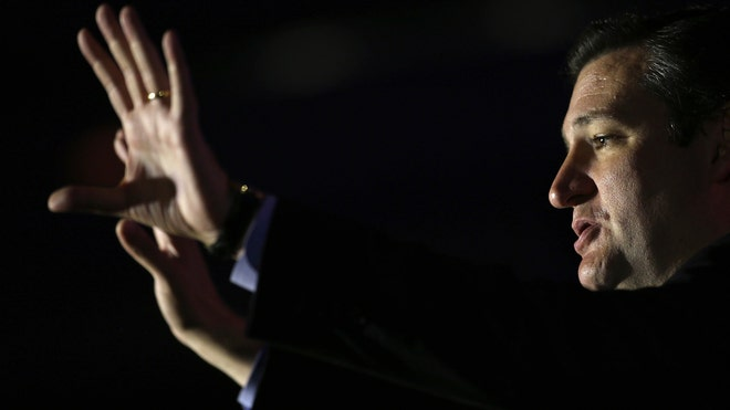 Ted Cruz Holds Evening Strategy Session To Rally Against Border Bill