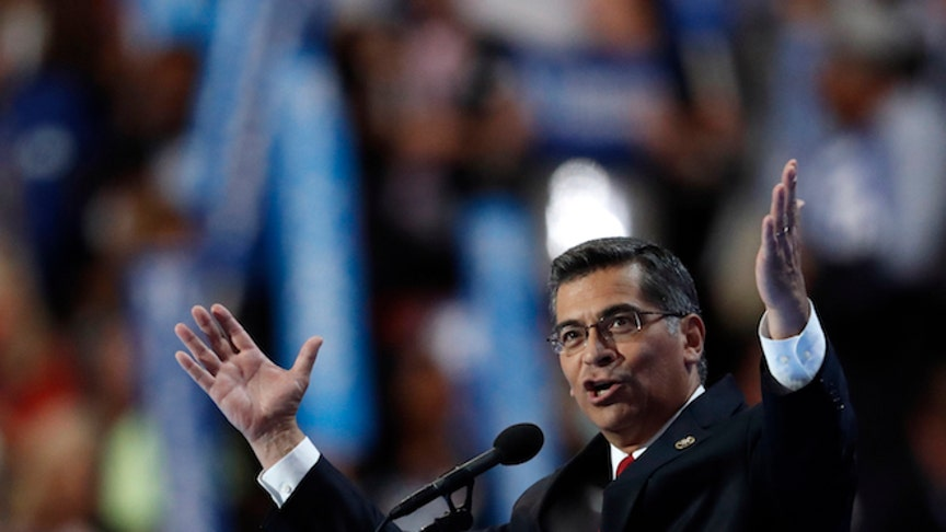 At DNC, Xavier Becerra says election is personal: 'This election is about us'
