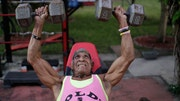 Florida resident Cristobal Gutierrez, who celebrates his nd birthday on Christmas Day, is still lifting weights competitively, preparing for a Miami bodybuilding contest in April in which he'll compete against people decades younger than him.
