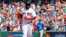 David Ortiz will be using his glove to start a game in Fenway Park for the first time in nearly  years.