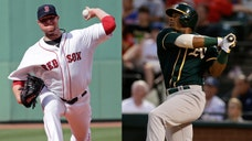 The Boston Red Sox and the Oakland A's have completed a trade that would send Yoenis Céspedes to Boston in exchange for ace starter Jon Lester and outfielder Jonny Gomes.