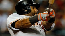 The first team in major league history to go from worst to first and back again has agreed to terms third baseman Pablo Sandoval, the player's agent confirmed Monday night.