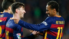 Neymar has made the three-man Ballon D'Or shortlist for the first time, alongside Barcelona teammate Lionel Messi and title holder Cristiano Ronaldo.