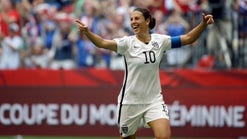 World Cup champ Carli Lloyd becomes new U.S. hero