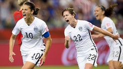 U.S. women's team headed to World Cup final after taking down Germany, 2-0