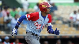 Cuba's ambassador to the Dominican Republic said a Dominican military man was involved in the defection of Cuban baseball stars Yulieski and Lourdes Gourriel during a tournament in this Caribbean nation.