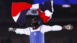 The D.R. got just one medal at the  Olympics, and it was won by a man who many Dominicans wouldn't consider one of their own, taekwondo standout Luisito Pié, who is of Haitian descent.