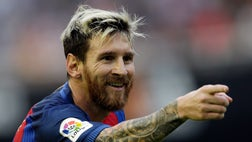 By himself, Lionel Messi has already scored more than Real Madrid's top three forwards combined.