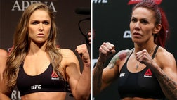 """If Ronda Rousey beats Amanda Nunes to regain her UFC bantamweight belt, then it will open the door for a super-fight match-up between her and Cris """"Cyborg"""" Justino, at least according to UFC president Dana White."""
