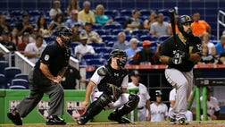 If moved, the games would likely be played in Miami, because the Marlins are designated as the home team.