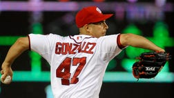 Gio Gonzalez being cleared by MLB the same day  players were suspended is a secondary story to the ongoing Alex Rodriguez saga.