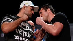 "The first UFC Fight Night on the new Fox Sports  will feature a headline scrap between Chael Sonnen and Mauricio ""Shogun"" Rua."
