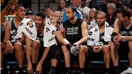 Last season the San Antonio Spurs had nine players born outside the U.S., all of whom are back this season as the Spurs try to win back-to-back titles for the first time.