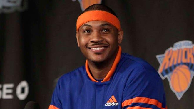 Carmelo Anthony Knicks Presser