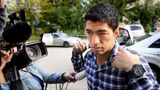 Luis Suarez could technically make Barcelona debut as early as Monday in friendly against Leon
