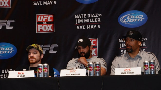 UFC ON FOX Pre-Fight Press Conference