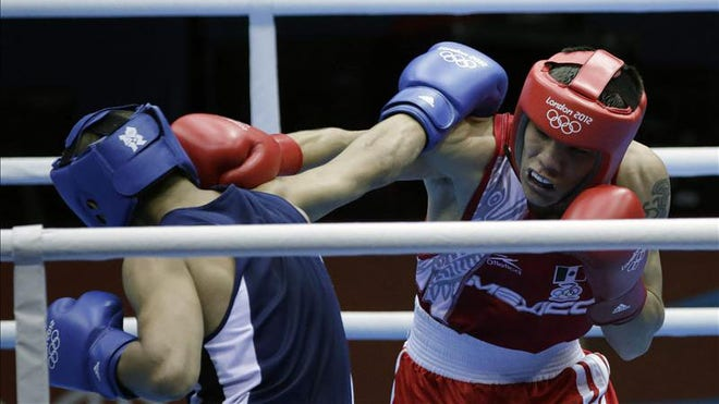 Valdez, 21, showed the form that carried him to a bronze medal at the 2009 ...