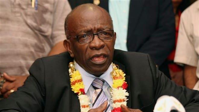 FIFA vp Jack Warner