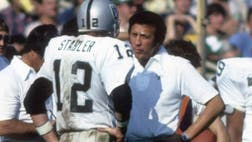 Four time Super Bowl winner, Tom Flores, the first Hispanic head coach in the NFL , tells Fox News Latino he's surprised by the recent news that former Oakland Raiders QB Ken Stabler has been posthumously diagnosed with CTE.