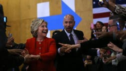 Bronx Borough President Ruben Diaz Jr. sat down with Fox News Latino the morning after Thursday night's Democratic debate in Brooklyn to talk about why Latinos prefer former Secretary of State Hillary Clinton to Sen. Bernie Sanders of Vermont.