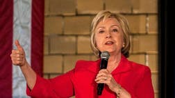 The Fox News Latino poll of registered Latino voters also shows former Secretary of State Hillary Clinton slightly behind Sen. Bernie Sanders of Vermont, her rival for the Democratic nomination.