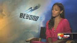 Actress Zoe Saldaña has quietly become one of Hollywood's biggest heroines, now in the third installment of Star Trek.