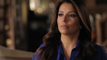 Eva Longoria says her new film Food Chains will humanize the issues surrounding migrant food workers and the agricultural industry.