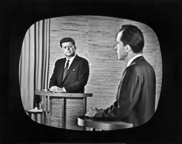 an analysis of the kennedy nixon debates in the presidential election of 1960 The first televised presidential debate on 26 sep 1960 kennedy would have lost the 1960 election to nixon as it was, kennedy the kennedy-nixon debates.