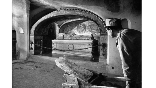 Unearthing history beneath St. Peter's Basilica