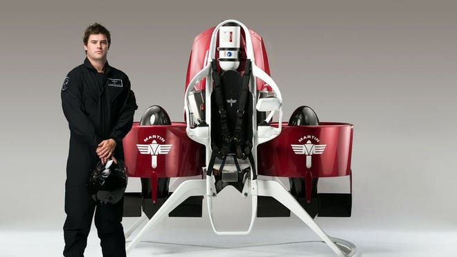 Personal jetpack gets flight permit for manned test