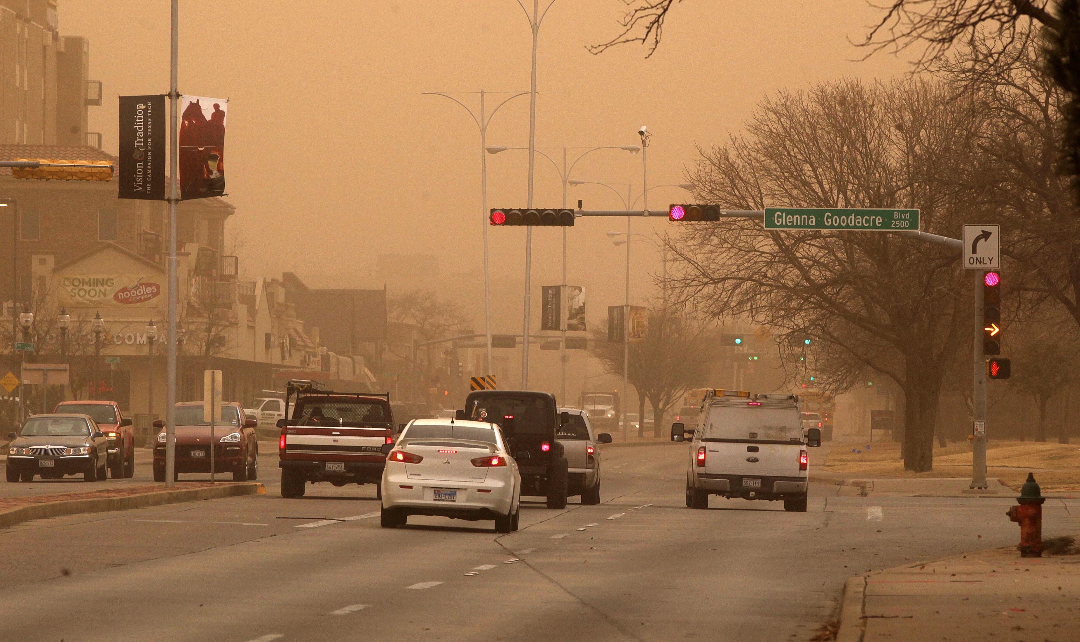 Lubbock Dust Storm