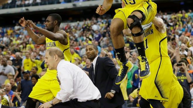 Michigan s run to Final Four makes basketball fashionable again in Ann    Michigan Basketball Final Four