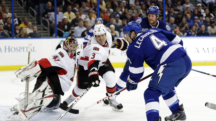 Stamkos Scores 26th Goal In 3rd Period Of Lightning 3 2 Win Over Senators F