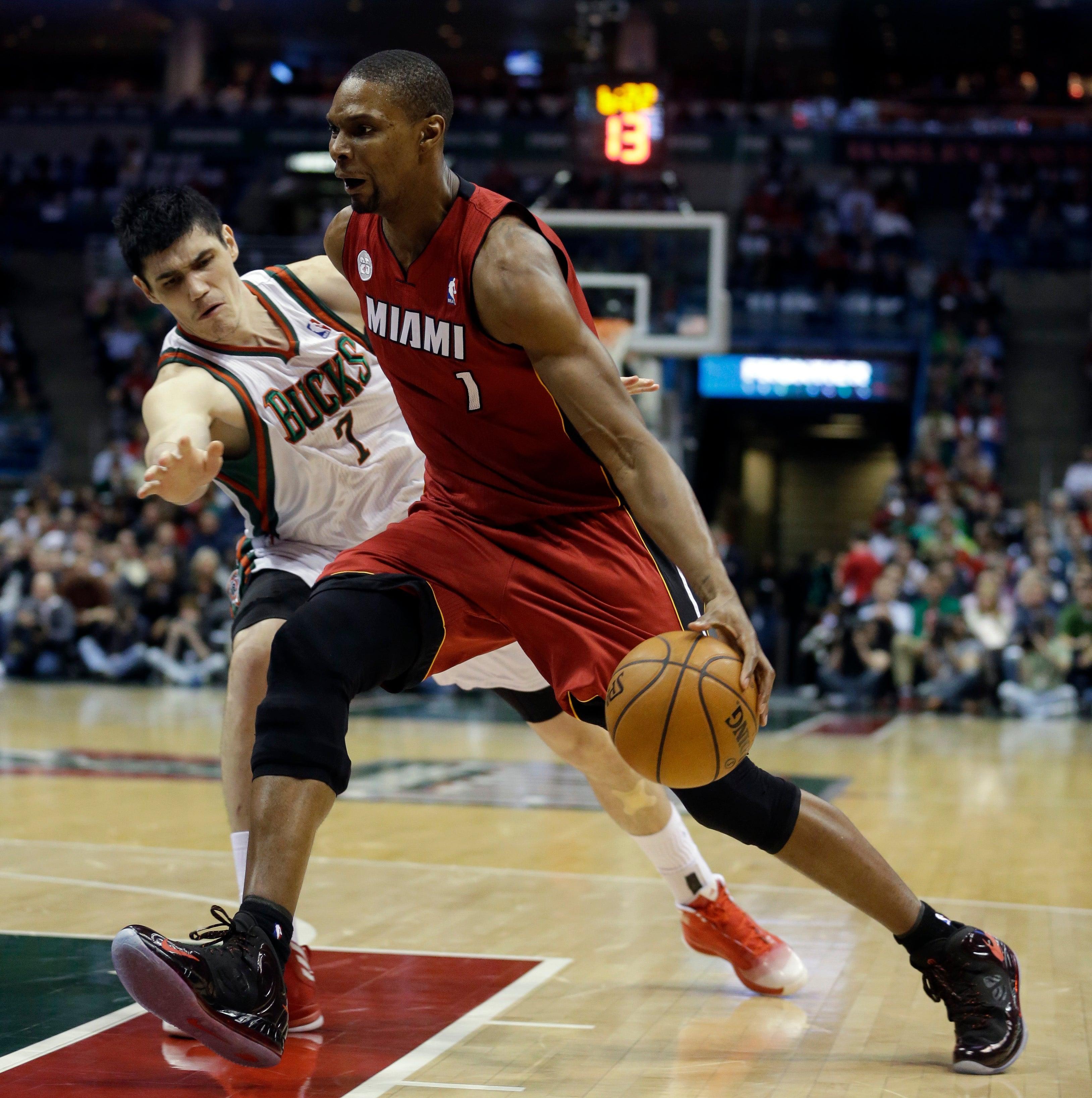 Allen Sets NBA Playoff Record For 3s As Heat Beat Bucks