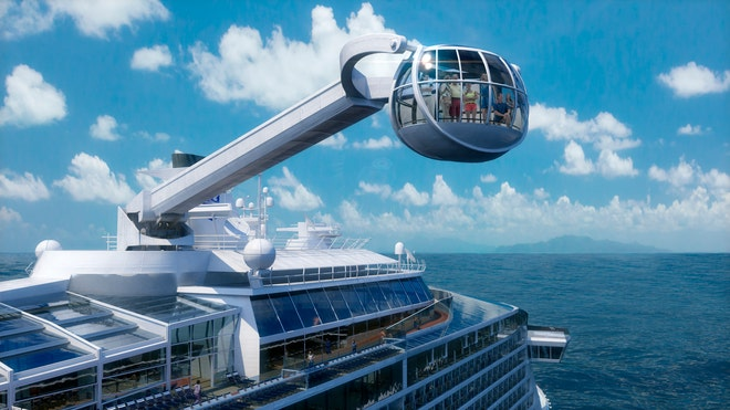 cruise line shows its forthcoming ship quantum of the seas