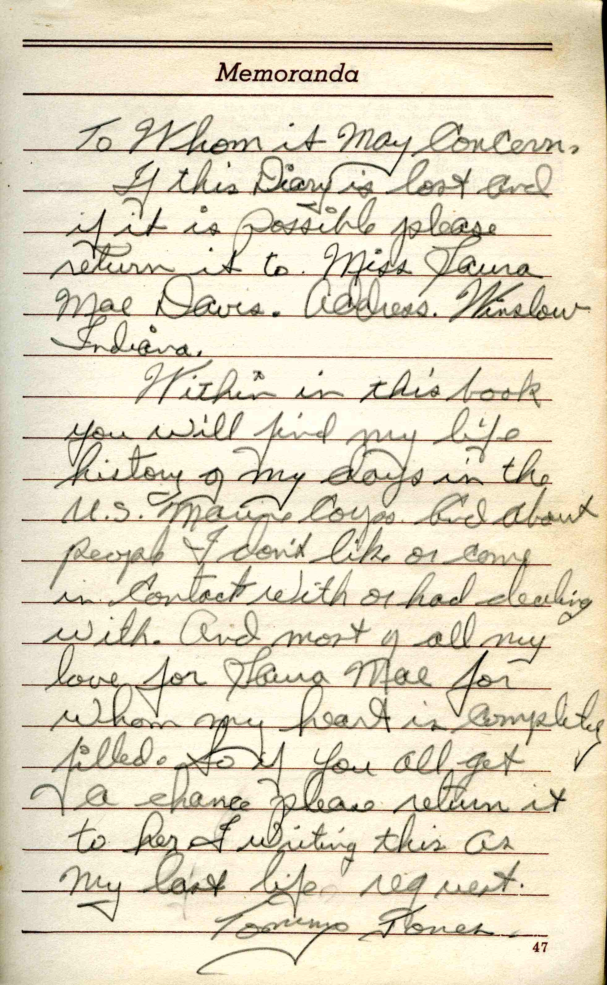 journal entry of a person in the 1950 s She also stated that discrimination is a person or a group's act using prejudice toward someone to refuse to work with them  journal entry 20 (p 223) .