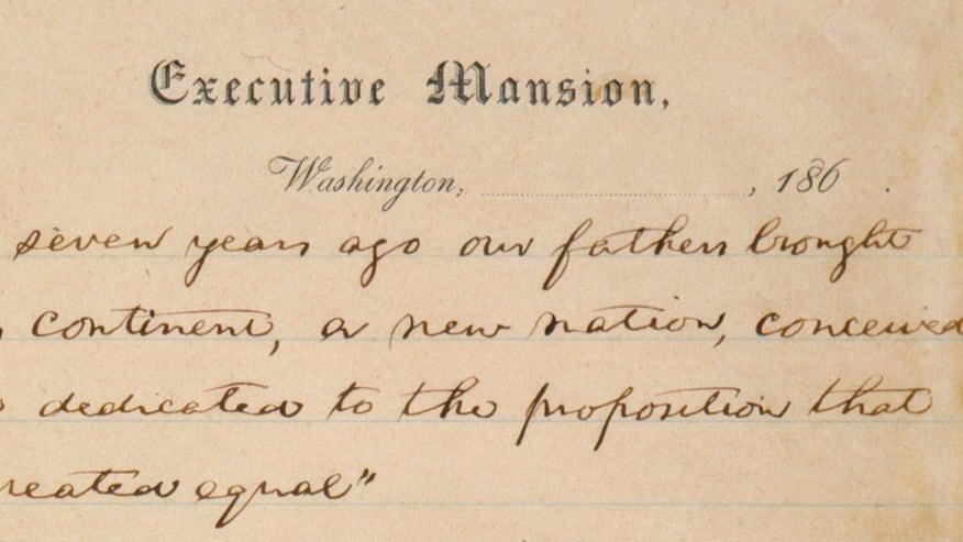 gettysburg address full text pdf