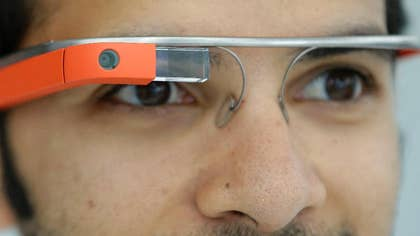 Google has chosen five charities to develop ideas using Web-connected Google Glass to enhance their work.