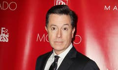 Stephen Colbert will not only be following in David Letterman's footsteps, he'll be doing it on the same stage.