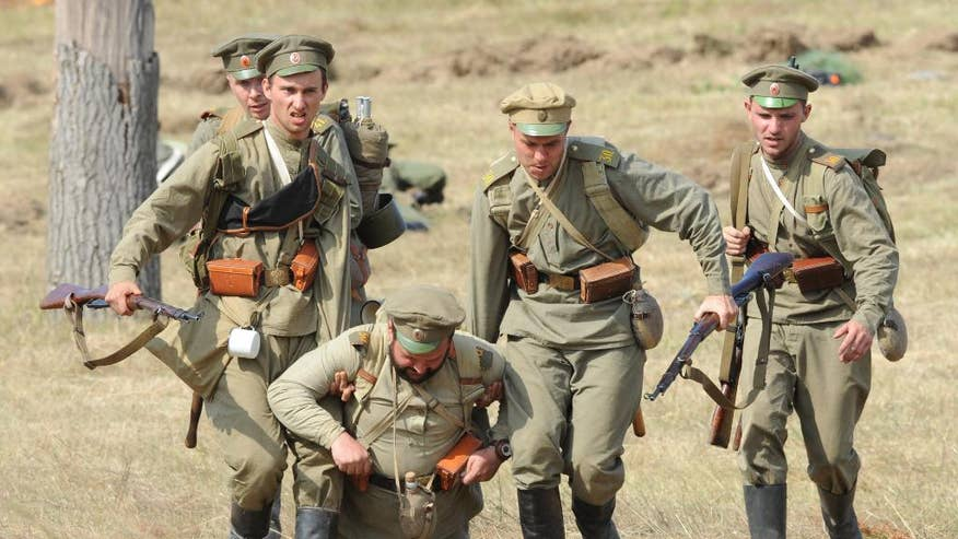 Image result for wwi reenactment