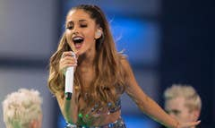 Ariana Grande is the new princess of pop, topping the charts with her addictive single Problem, impressing critics with her thick, gliding vocal range and maintaining an image that her young Nickelodeon fans can vibe with, signature ponytail and all.