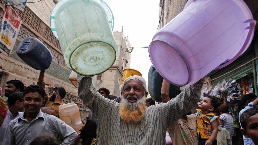 water crisis in pakistan