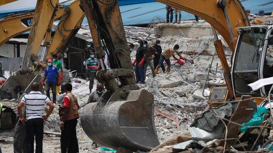 Nigeria Church Building Collapse Nigeria Building Collapse-3