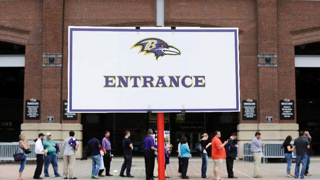 More than , fans showed up to exchange their Ray Rice jerseys for those of other Ravens players during a two-day event at Baltimore's home stadium.