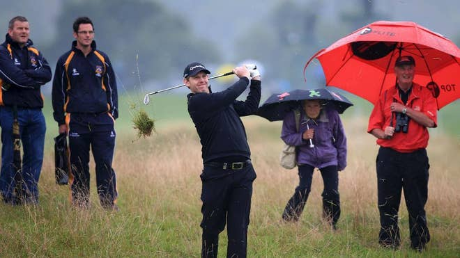 Stephen Gallacher will miss the cut in his last tournament before his first Ryder Cup, putting his poor performance at the Wales Open down to thinking too much about playing at Gleneagles next week.