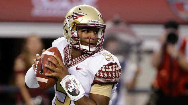 Top-ranked Florida State will face Clemson without Jameis Winston — for the entire game and not just the first half.