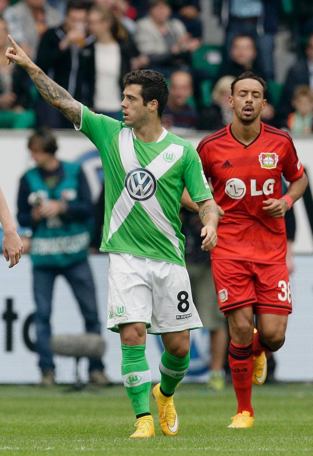 Wolfsburg golea a un bayer leverkusen de 10 hombres y logra su primer triunfo en la bundesliga - El tiempo en wolfsburg ...