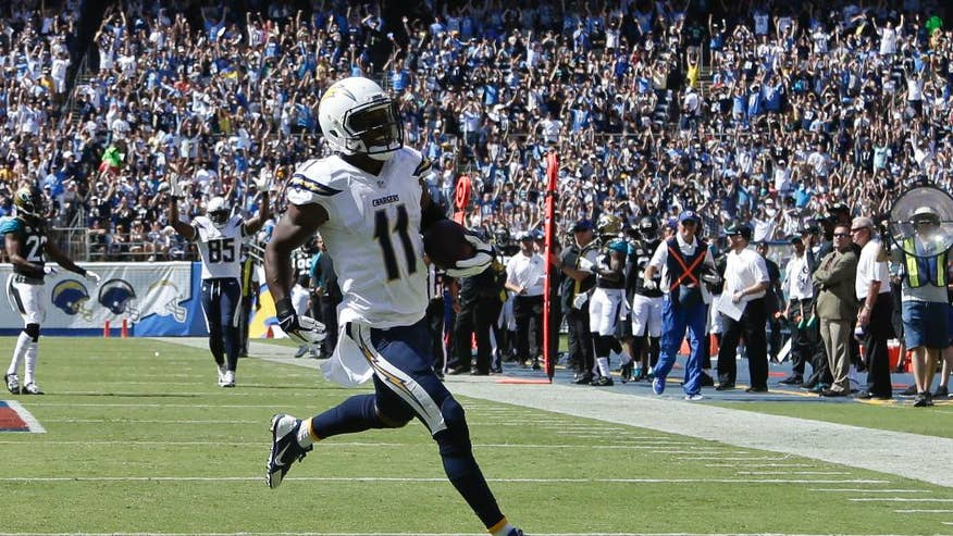 Rivers 3 Touchdown Passes Carry Chargers Over Bortles