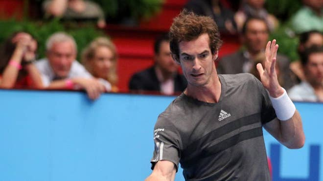 Andy Murray won his second title in three weeks after rallying to defeat David Ferrer -, -, - at the Erste Bank Open on Sunday.